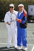 Alejandro Sanz and Tony Bennett