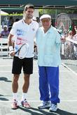 Tony Bennett and Novak Djokovic