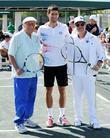 Tony Bennett, Alejandro Sanz and Novak Djokovic