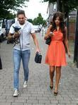 Mario Falcone and Lucy Mecklenburgh The cast of...
