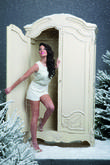 Tulisa Contostavlos and Fashion's Christmas