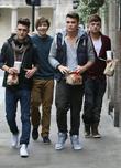 Union J, George Shelley, Josh Cuthbert, Jaymi Hensley, The X Factor and Jamie Hamblett