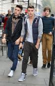 Jamie Hamblett, Josh Cuthbert, George Shelley and The X Factor