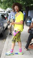 redfoo of lmfao us open 2012 women s match - celebr