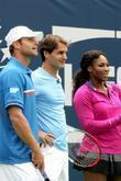 Andy Roddick, Roger Federer and Serena Williams