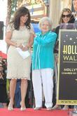 Valerie Bertinelli, Betty White, Wendie Malick and Star On The Hollywood Walk Of Fame