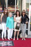 Jane Leeves, Betty White, Valerie Bertinelli, Wendie Malick, Star On The Hollywood Walk Of Fame