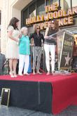 Valerie Bertinelli, Betty White, Jane Leeves, Wendie Malick and Star On The Hollywood Walk Of Fame