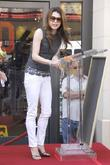 Jane Leeves and Star On The Hollywood Walk Of Fame