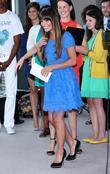 Actress Lea Michele  attends the Valspar Hands...