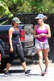Vanessa Hudgens is seen after her fitness routine...