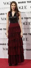 Laetitia Casta, Vogue December Issue Launch, Party, Palacio Fernan Nunez. Madrid and Spain