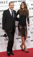 Mario Testino, Izabel Goulart, Vogue December Issue Launch, Party, Palacio Fernan Nunez. Madrid and Spain