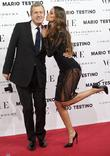 Mario Testino, Izabel Goulart, Vogue December Issue Launch, Party, Palacio Fernan Nunez. Madrid and Spain