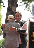 Leonard Nimoy, Walter Koenig and Star On The Hollywood Walk Of Fame