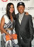 Patricia Velasquez and Russell Simmons