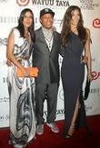Patricia Velasquez, Dayana Mendoza and Russell Simmons