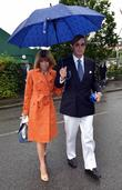 Anna Wintour  arriving for the 2012 Wimbledon...