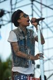 Wiz Khalifa  performs at Sunfest West Palm...