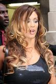 Eve Torres WWE Superstars attend a signing session...