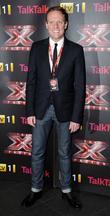 Antony Cotton  X Factor final photcall, held...