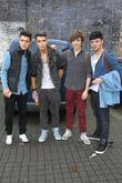 Jamie Hamblett, Josh Cuthbert, George Shelley, Jaymi Hensley, Union J and The X Factor
