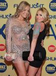 Alexis Texas; Teagan Presley XBIZ Awards 2013 at...