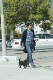 Zachary Quinto seen out and about with his...