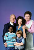 Conrad Bain, Dixie Carter, Edie Mcclurg, Danny Cooksey and Gary Coleman