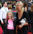 Ulrika Jonsson and Daughter