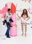 Katie Price and Photographer