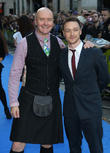 James Mcavoy and Irvine Welsh