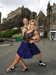 Natalie Lowe and Ian Waite