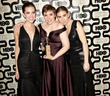 Allison Williams, Lena Dunham and Zosia Mamet -...