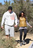 Channing Tatum And Pregnant Wife Jenna Dewan Take The Dogs For A Stroll (Pictures)