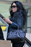 kimora lee simmons at lax airport