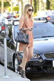 Lauren Conrad seen leaving Kate Sommerville