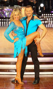 Fern Britton and Artem Cingvintsev