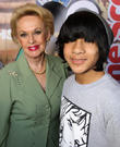 Tippi Hedren and Tai Urban