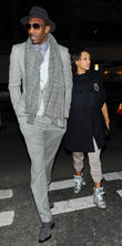 Amar'e Stoudemire and Alexis Welch (wife)