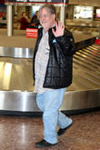 celebrities arrive at salt lake city international