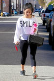 Brenda Song Leaves Gym