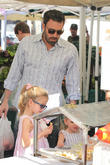 Ben Affleck, Violet Affleck and Seraphina Affleck