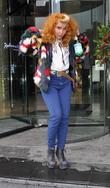 Paloma Faith leaving her hotel