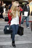 Celebrities arrive at Salt Lake City International Airport