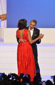 Michelle Obama And Barack Obama -...