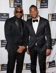 Omar Epps, Marlon Wayans, Harman Center