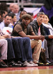 celebrities watch los angeles clippers vs oklahoma
