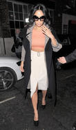 Nicole Scherzinger is seen leaving a photo studio