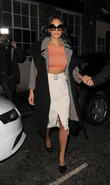 Nicole Scherzinger leaving a photo studio